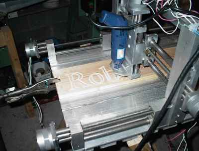 CNC Engraver - Small Motors