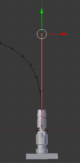Bezier Curve Handle