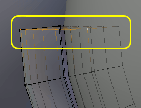 Snd Vertices misaligned