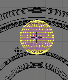 Scale UV Sphere