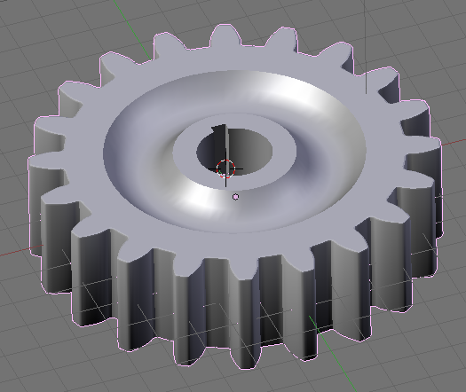 Completed Gear Model