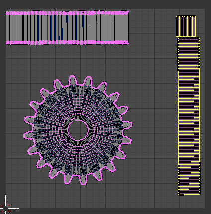 Initial UV Layout
