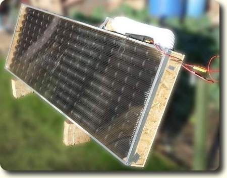 Drinks Can Solar panel.