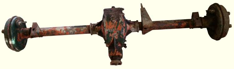 Reliant Rebel Van back axle