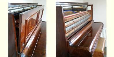 Piano Action Removal 002