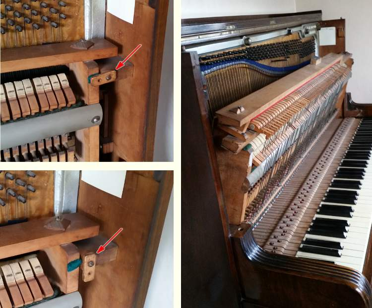 Collard And Collard Piano Action Removal