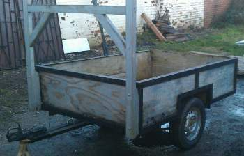 Old Box Trailer