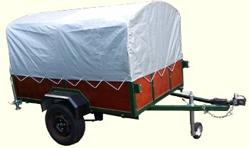 Trailer With top canopy