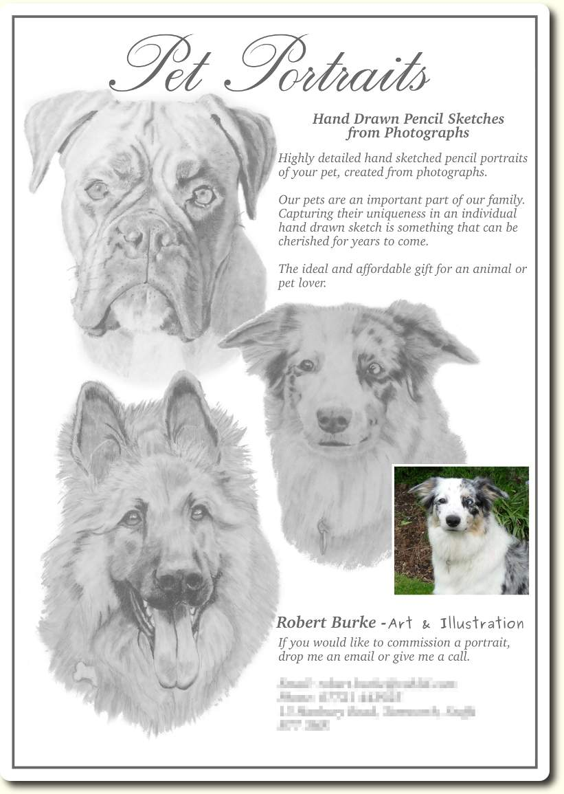 Pet Portrait Flyer