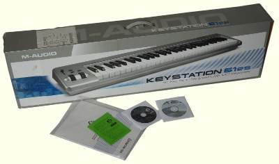 M-AUDIO Keystation 61es packageing